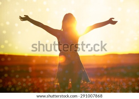 Joy, sunlight, wheat.