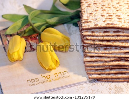 joyful spring festival - jewish holiday of Passover and its attributes