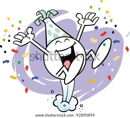 JOYOUS Moodie Character Celebrating