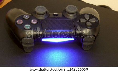 joystick on the console #1142265059
