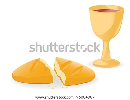 Jpeg Communion – bread and wine