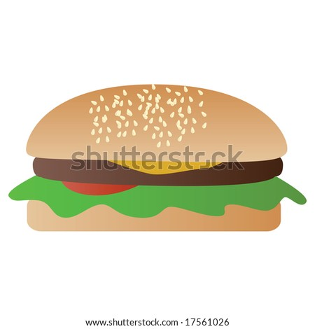Hamburger Clip Art. Lettuce+leaf+clip+art
