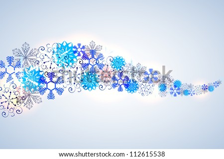 Jpeg version. christmass background - stock photo