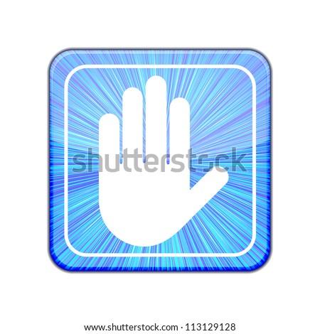 Jpeg version. Hand icon
