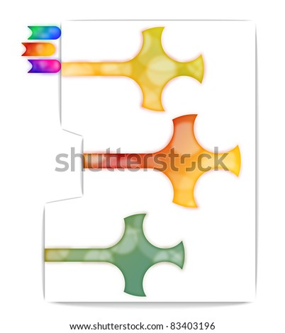 jpg Bookmarks - stock photo