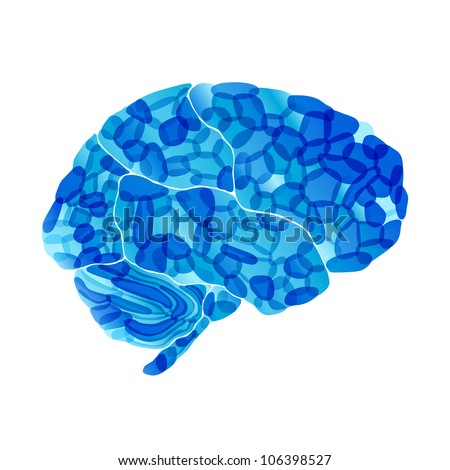 jpg, human brain, cold mind, abstract background