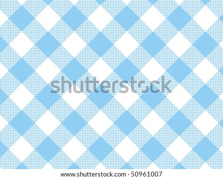 Blue+and+white+gingham+fabric