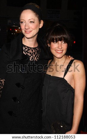 Judy Greer and Lindsay Sloane at the Los Angeles Premiere of \