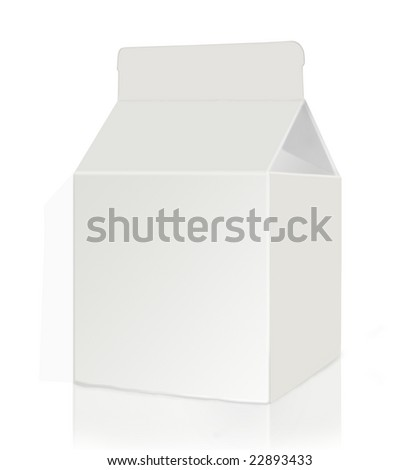 Juice Box - stock photo