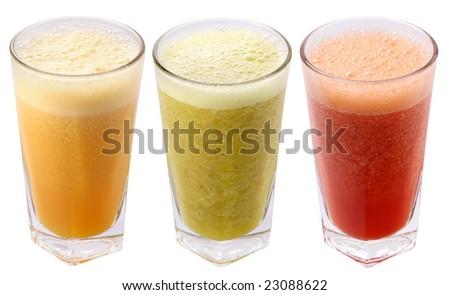 juice fresh - stock photo