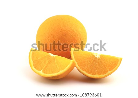 Juicy Navel Oranges make a delicious snack.