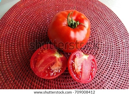 Juicy Red Tomatoes #709008412