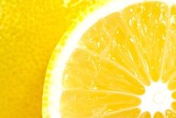 juicy ripe lemons close-up
