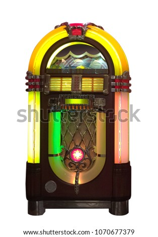 Jukebox on White #1070677379