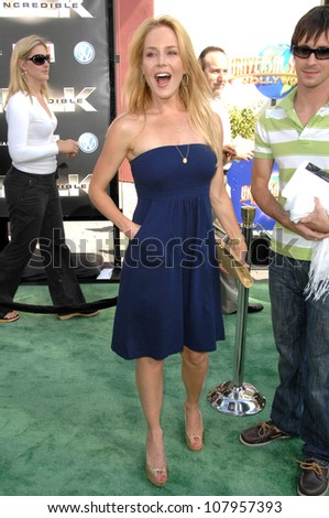 """Julie Benz  at the World Premiere of """"The Incredible Hulk"""". Gibson Amphitheatre, Universal Studios, Universal City, CA. 06-08-08"""