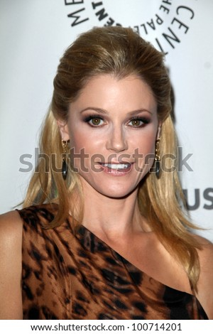 "Julie Bowen at ""Modern Family"" at PaleyFest 2012, Saban Theater, Beverly Hills, CA 03-14-12"