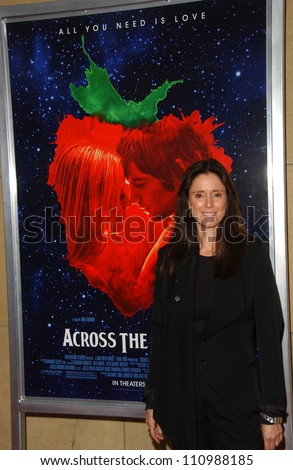 "Julie Taymor at the special screening of ""Across The Universe"". Egyptian Theatre, Hollywood, CA. 09-18-07"