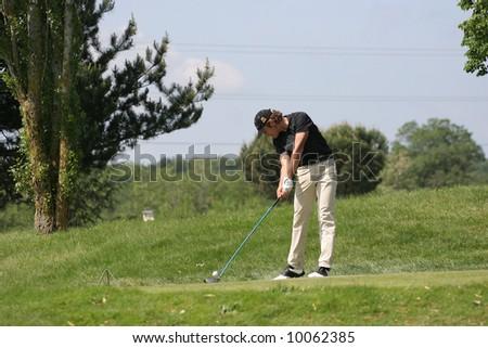 julien xanthopoulos golf open de toulouse seilh alps tour and france pro golf tour may 2007. Black Bedroom Furniture Sets. Home Design Ideas
