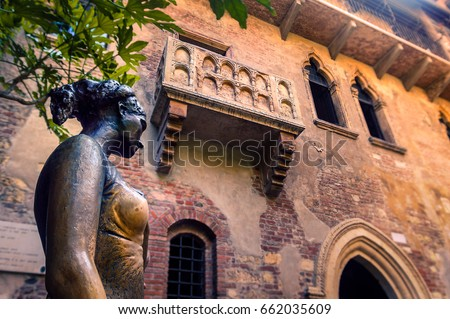 Photo of  Juliet's Balcony in Verona, Italy