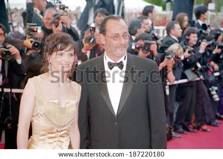 Juliette Binoche & Jean Reno at the Cannes Film Festival, 5/2002