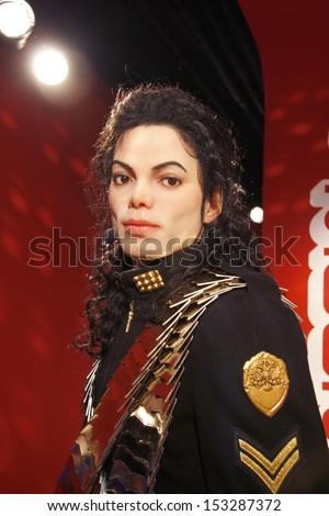"""JULY 10, 2008 - BERLIN: the wax figure of Michael Jackson - official opening of the waxworks """"Madame Tussauds Berlin"""", Unter den Linden, Berlin."""