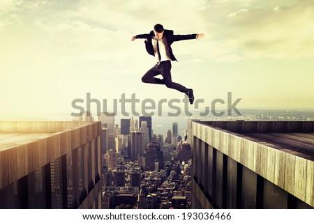 Jump ストックフォト ©