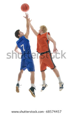 Jump Ball to start the game