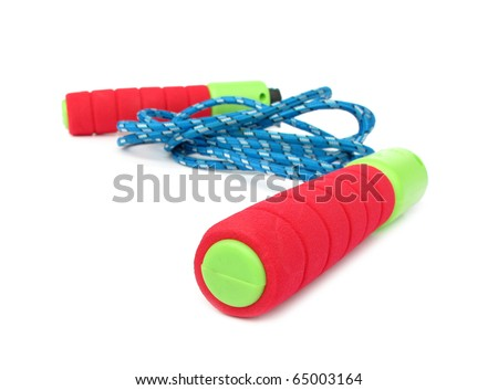 Jump rope green red blue