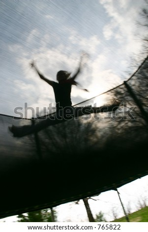 Jumping High (motion blur)