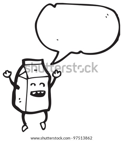 Juice Box Cartoon Jumping Juice Box Cartoon