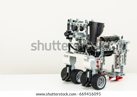 Royalty Free Robot Dog Cyber Security Dog Is A 669766063 Stock