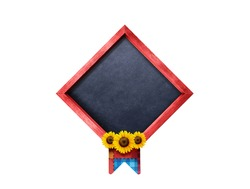 June Party badge isolated on white background 3d Illustration