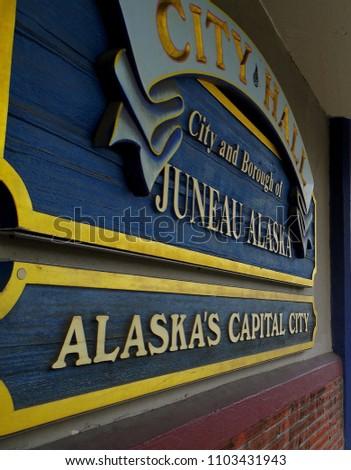 Juneau, Alaska's Capital City.
