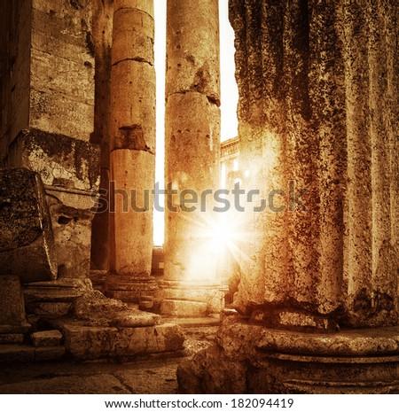 jupiter's temple  baalbek ...