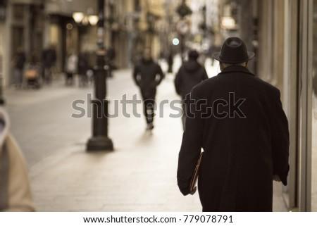 Just a walk. - Shutterstock ID 779078791