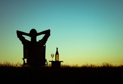 Just sit back relax and enjoy life.