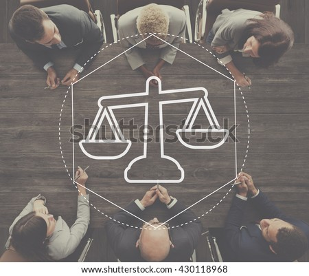 Justice Law Order Legal Graphic Concept