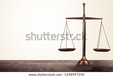 Justice weight scales