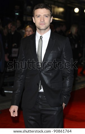 "Justin Timberlake arrives for the ""In Time"" premiere at the Curzon Mayfair cinema, London. 31/10/2011 Picture by: Steve vas / Featureflash"