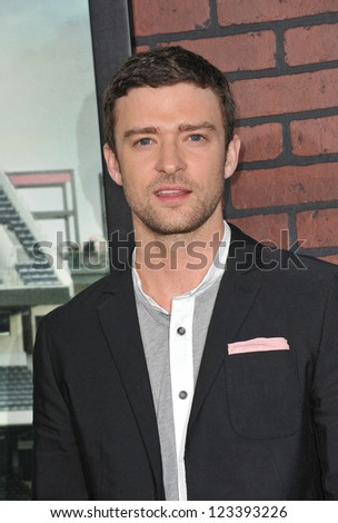 "Justin Timberlake at the premiere of his movie ""Trouble With The Curve"" at the Mann Village Theatre, Westwood. September 19, 2012  Los Angeles, CA Picture: Paul Smith"