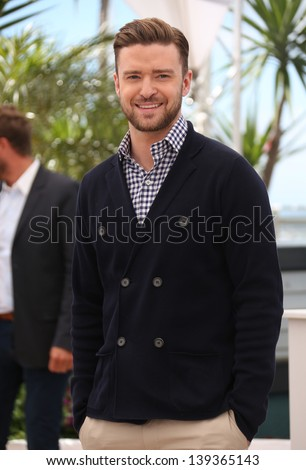 Justin Timberlake at the 66th Cannes Film Festival - Inside Llewyn Davis Photocall, Cannes, France. 19/05/2013