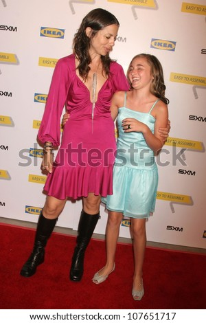 Justine Bateman and Rachel G. Fox  at the Launch Party for Ikea's 'Easy To Assemble' Web Series. Architecture and Design Museum, Los Angeles, CA. 09-18-08