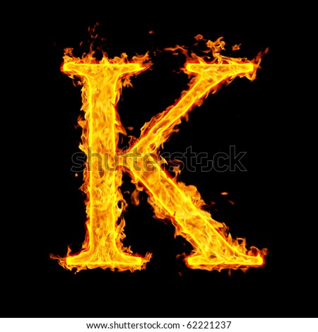 stock-photo-k-fire-letter-62221237 jpg K 20fire 20450x470Letter K Fire