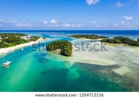 Kabira Bay in ishigaki island #1204713136