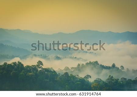 Kaeng Krachan panoenthung scenic  #631914764