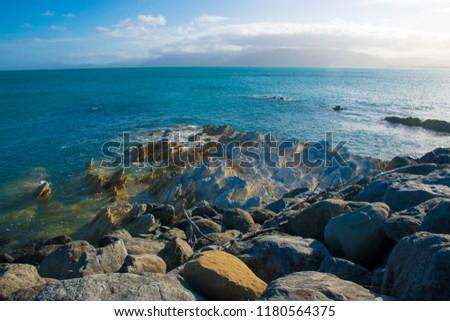 Kaikoura Coastal landscape #1180564375