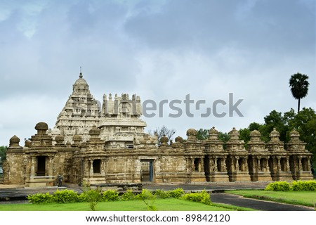 kailasanathar temple in Kanchipuram , Tamil Nadu, India