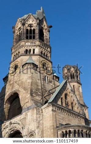 Kaiser William Memorial Church in Berlin