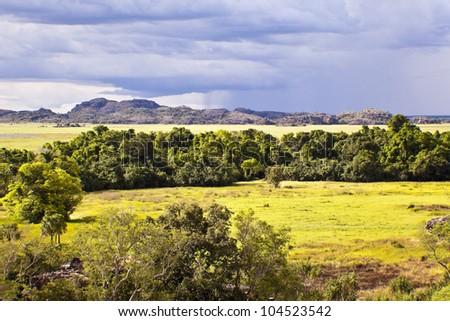 Kakadu National Park, Australia  - wet season -.