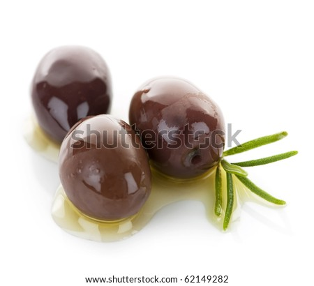 Kalamata olives in olive oil and herbs